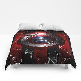 Captain Roger Shield Comforters