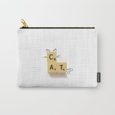 Cat Scrabble Carry-All Pouch