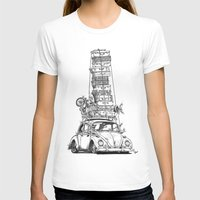 volkswagon T-shirts featuring Stack Yo Rack by BulldawgDUDE