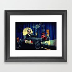Speed Roadster Framed Art Print