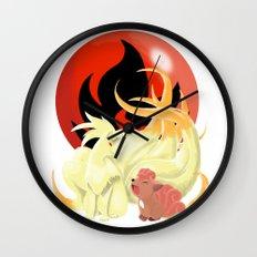 Of Many Tails Wall Clock