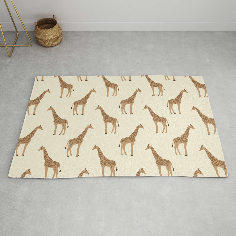 Giraffe Animal Minimal Modern Pattern