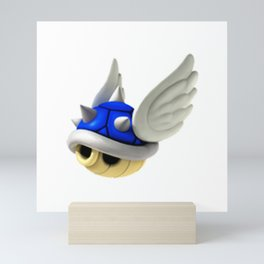 Blue shell Mini Art Print