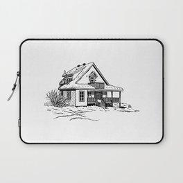 Winter Cottage Ink Laptop Sleeve