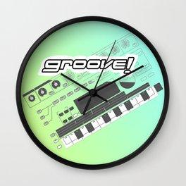 Groove! Wall Clock