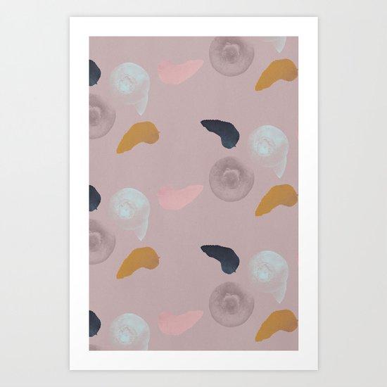 Blueberries 1 Art Print