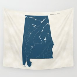 Alabama Parks - v2 Wall Tapestry