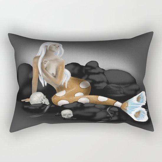 Dangerous Beauty Rectangular Pillow