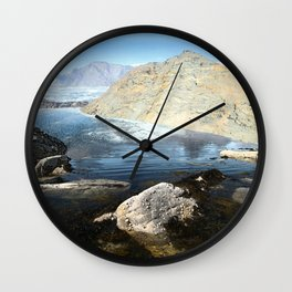Life - the adventure Wall Clock