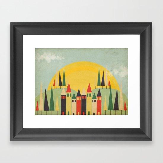 Rushmore Framed Art Print