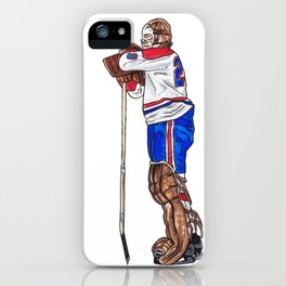 Dryden - The Pose iPhone Case