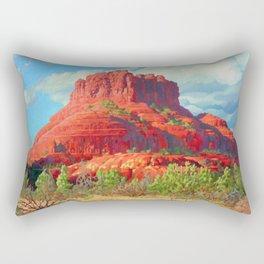 Big Bell Rock Sedona by Amanda Martinson Rectangular Pillow