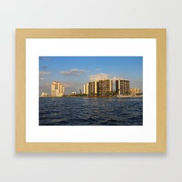 Shoreline in Fort Myers III Framed Art Print