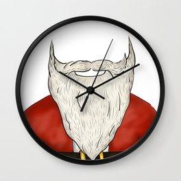 Santa Beard Wall Clock