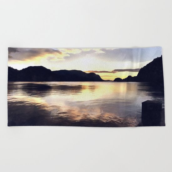 Icmeler Seascape Beach Towel