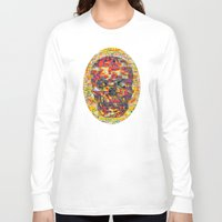 ashton irwin Long Sleeve T-shirts featuring Ticket to Ride (1R) by Wayne Edson Bryan