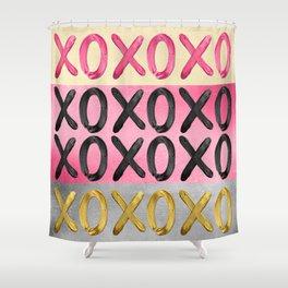 Glamorous XO's  Shower Curtain