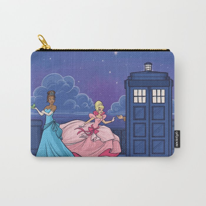 The Princess and the Doctor Carry-All Pouch