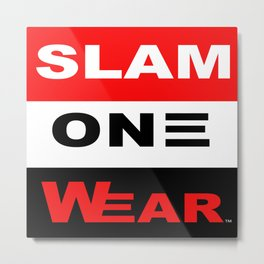 Slam One Wear Metal Print