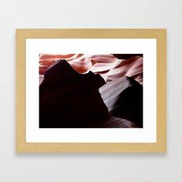 Canyon Abstract 5 Framed Art Print