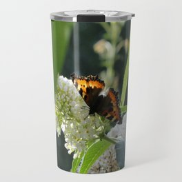 Small Tortoiseshell Butterfly Travel Mug