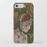 mononoke iPhone & iPod Cases featuring mononoke by Devon Busby Busbyart