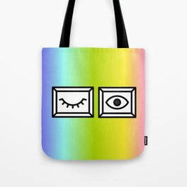 LOOK AT ME Tote Bag