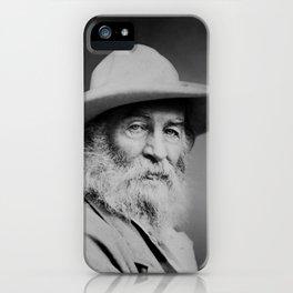 Walt Whitman Portrait iPhone Case