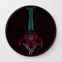 hannibal Wall Clocks featuring Hannibal by Charleighkat