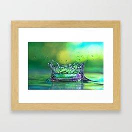 Kings Crown Framed Art Print