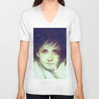 hiccup V-neck T-shirts featuring Alpha by Anna Dittmann