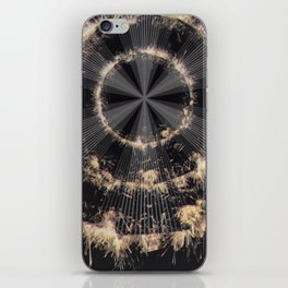 Circle iPhone Skin