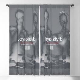 "Joy Division ""Love Will Tear US Apart"" Blackout Curtain"