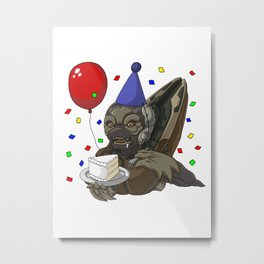 Grunt Birthday Party! Metal Print