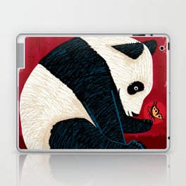 The Panda and the Butterfly Laptop & iPad Skin