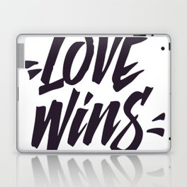 Love Wins Brush Lettering Laptop & iPad Skin
