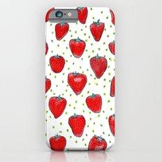 Strawberries Celebration Slim Case iPhone 6s