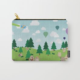 Bear Party Carry-All Pouch