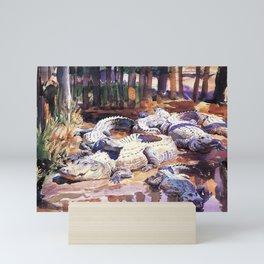 John Singer Sargent Muddy Alligators 1917 Mini Art Print