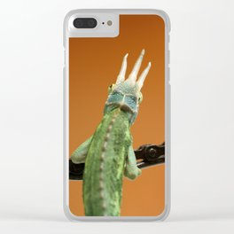 Heavy is the head. Clear iPhone Case