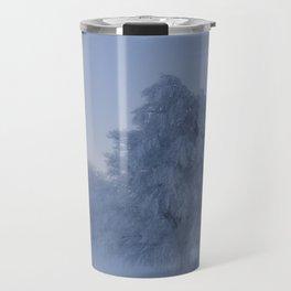 Snowy Trees Travel Mug