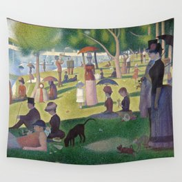A Sunday on La Grande Jatte by Georges Seurat Wall Tapestry