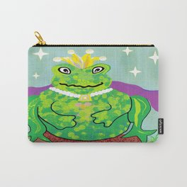 Kiss a Frog Carry-All Pouch
