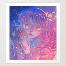 Twilight Sky Art Print