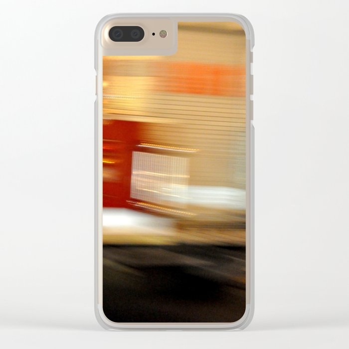 Go Faster :) Clear iPhone Case