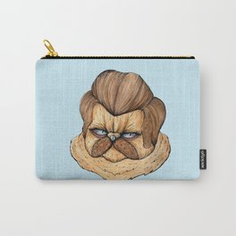 Ron Swanson Cat Carry-All Pouch