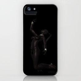 Tribal Nude Female iPhone Case