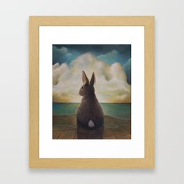 Nowhere To Run Framed Art Print