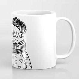 Betty in black and white Coffee Mug