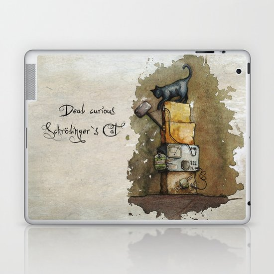 Schrödinger`s Cat Laptop & iPad Skin